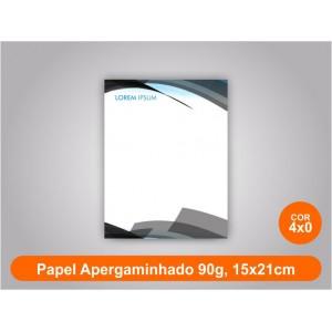 5unid - Blocos de 50 folhas color, 15x21cm, papel Ap 90g