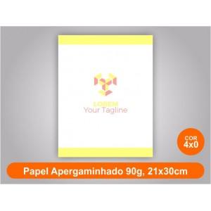 5unid - Blocos de 50 folhas color, 21x30cm, papel Ap 90g
