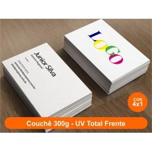 100 Cartões: Frente Colorido + Verso Preto e Branco